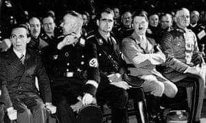 Hitler and Goebbels, Hess, Himmler