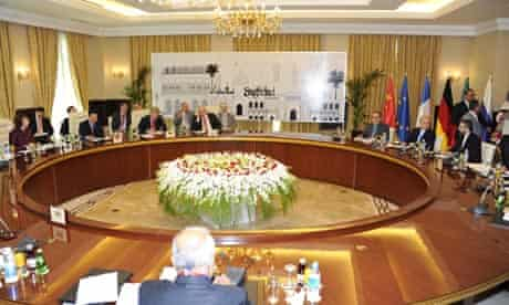 Nuclear talks between Iran and six world powers