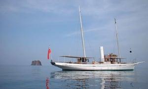 the amazon yacht