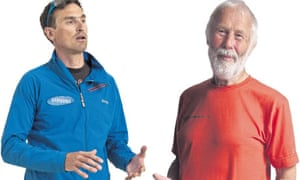 Mountaineers Kenton Cool and Chris Bonington