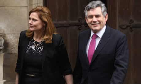 Gordon Brown Attends The Leveson Inquiry