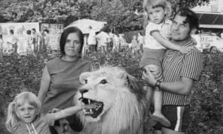 Carmen Bugan with her parents and sister as a child during a family outing