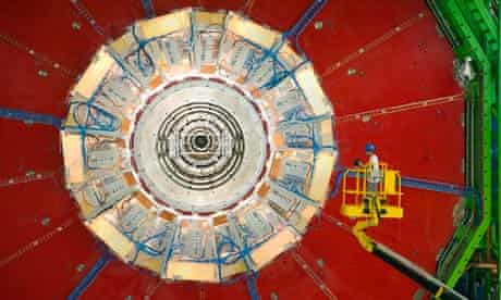 The Large Hadron Collider at Cern, where scientists continue their hunt for the Higgs particle.
