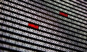 Computing coding containing the word 'virus'