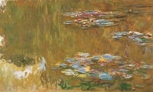 Claude Monet Monet's The Water-Lily Pond