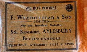Weatherhead's bag