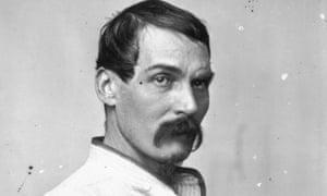 British explorer Richard Francis Burton pictured in 1864