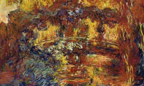 Monet's Japanese Footbridge