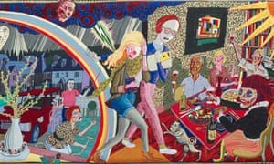 Expulsion From Number 8 Eden Close Grayson Perry tapestry