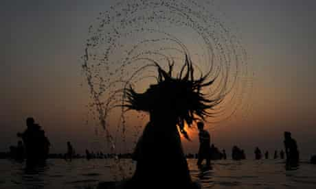 Sadhu in the Bay of Bengal