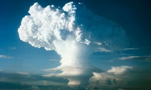 Mushroom Cloud from Nuclear Testing