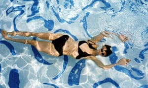 Leanne Shapton in the pool