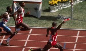 1988 Olympics 100m final