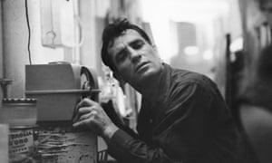 Jack Kerouac photographed in 1959
