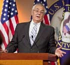 Rep. Barney Frank Holds News Conference On Retirement
