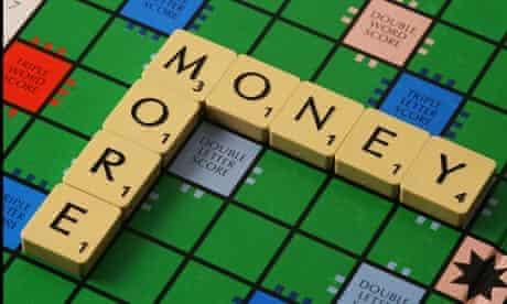 money scrabble