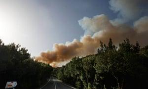 La Gomera fires