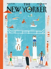 10 best – New Yorker cover, Richard McGuire, 2008.