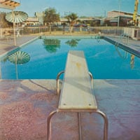 10 best – Detail from Nine Swimming Pools, Ed Ruscha, 1968.