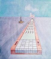 10 best – Floating Swimming Pool, Rem Koolhaas, 1978.