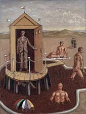 10 best – Le bain mystérieux, Giorgio de Chirico, 1938.