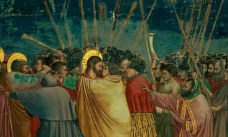 Giotto's Kiss of Judas (1304-06).