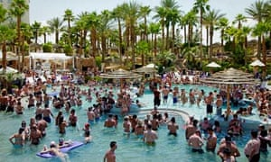 Rehab Sunday party at the Hard Rock Hotel in Las Vegas