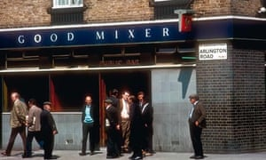 Camden Town pub the Good Mixer and its customers in the 1970s.