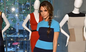 Mother-of four Victoria Beckham with her 2012 autumn and winter collection