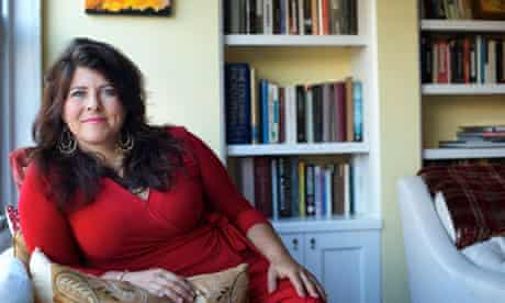 Naomi Wolf at home in New York
