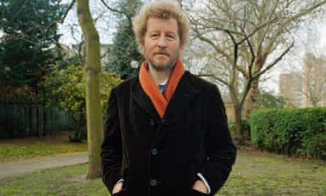 Sebastian Faulks photographed in London