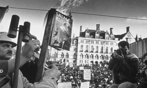 Demonstration against 'The Satanic Verses', Bradford