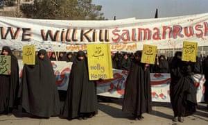 A demonstration in Tehran