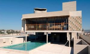 Le Corbusier's Unite d'Habitation building.