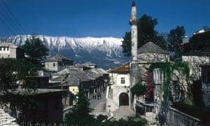 Albanian town, Gjirokaster region