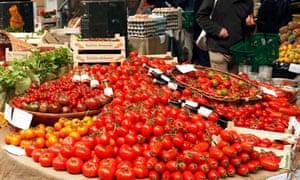 Stalls at Borough Market, Southwark, London
