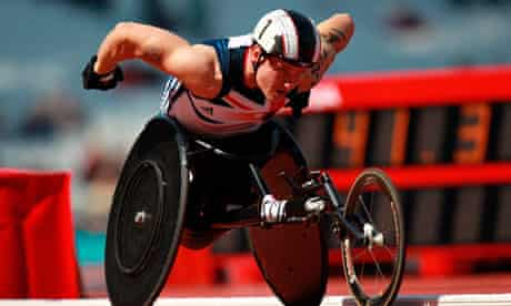 Para2 - 5,000m gold medallist David Weir