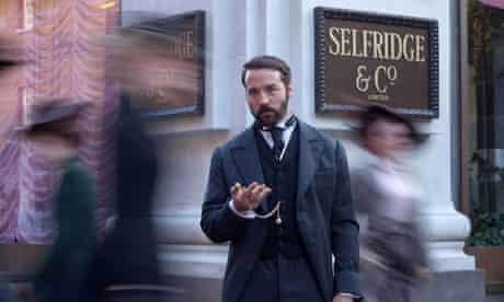 Jeremy Piven as HarrySelfridge in the ITV1 drama Mr Selfridge