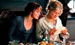 Keira Knightley and Rosamund Pike in Pride and Prejudice (2005)