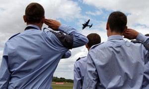 Air Training Cadets at the Royal International Air Tattoo