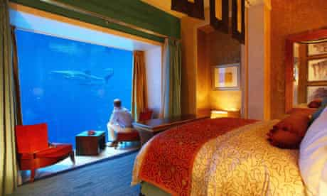 The Atlantis hotel in Dubai