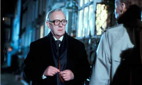 Alec Guinness in the 1979 TV adaptation of John le Carré's spy novel, Tinker Tailor SoldierSpy.