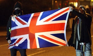 Violence against the police in Northern Ireland by loyalist protesters is escalating