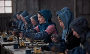 Anne Hathaway as the prostitute Fantine in Tom Hooper's Les Misérables.