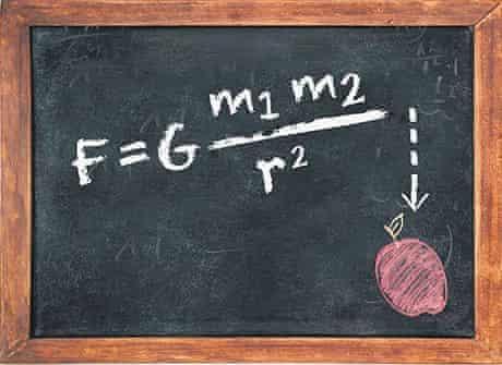 Newton's universal law of gravitation