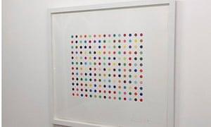 Damien Hirst paintings stolen