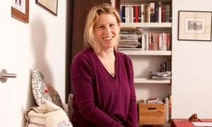 Caroline Criado-Perez photographed at her home in north London.