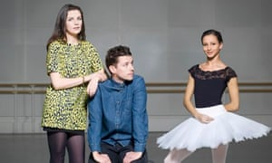 Comedian Aisling Bea, theatre director Sam Yates and dancer Francesca Hayward