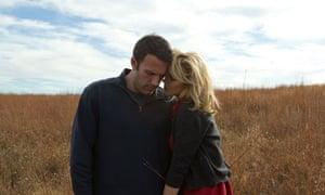Ben Affleck and Rachel McAdams in To the Wonder.