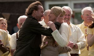 Christopher Eccleston and Vanessa Redgrave in Song for Marion.